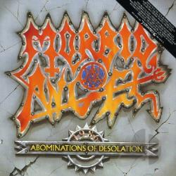 Morbid Angel - Abominations Of Desolation CD Cover Art
