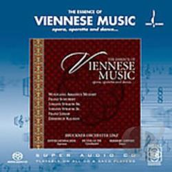Bruckner Orchestra Linz / Lienbacher / Lippert - Essence of Viennese Music CD Cover Art