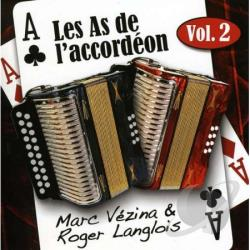 Vezina, Marc - Les As de l'Accordeon, Vol. 2 CD Cover Art