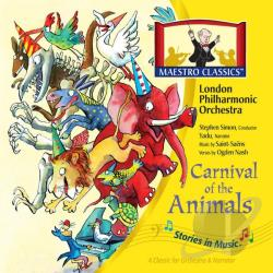 Maestro Classics - Stories in Music: Carnival of the Animals CD Cover Art