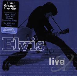 Elvis Presley Elvis Live Cd Album