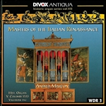 Marcon, Andrea - Masters Of Italian Renaissance CD Cover Art