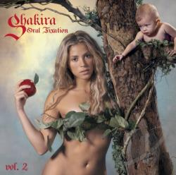 Shakira - Oral Fixation, Vol. 2 CD Cover Art