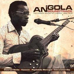 Angola Soundtrack: The Unique Sound of Luanda 1968-1976 CD Cover Art