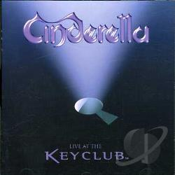 Cinderella - Live at the Key Club CD Cover Art