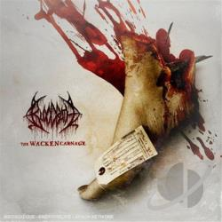 Bloodbath - Wacken Carnage CD Cover Art