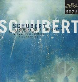 Muti / Schubert / Vpo - Schubert: Symphony No. 9 The Great; Rosamunde Overture CD Cover Art