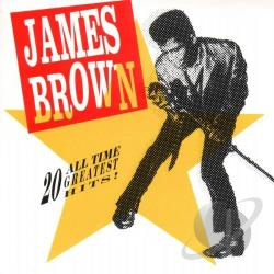 Brown, James - 20 All-Time Greatest Hits! CD Cover Art