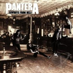 Pantera - Cowboys from Hell CD Cover Art
