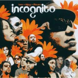 Incognito - Bees + Things + Flowers CD Cover Art