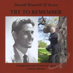 Donald Braswell, Sr. - Try To Remember CD Cover Art