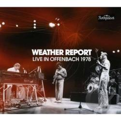 Weather Report - Live in Offenbach 1978 CD Cover Art