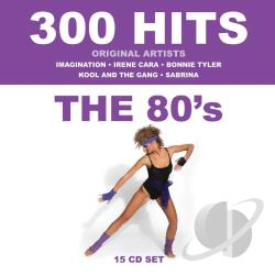 300 Hits: The '80s CD Cover Art