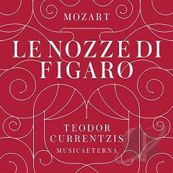 Currentzis, Teodor / Mozart - Mozart: Le Nozze di Figaro CD Cover Art