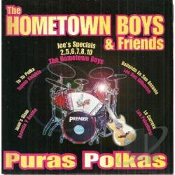 Hometown Boys - Hometown Boys & CD Cover Art