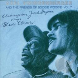 Zwingenberger, Axel - Champion Jack Dupree Sing CD Cover Art