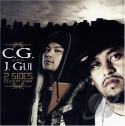 C.G. Guison - 2 Sides To Every Story CD Cover Art