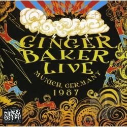 Baker, Ginger / Ginger Bakers No Material - Live In Munich 1987 CD Cover Art