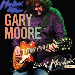 Moore, Gary - Live At Montreux 2010 CD Cover Art