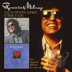 Milsap, Ronnie - Lost In The Fifties Tonight / Heart & Soul CD Cover Art