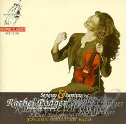 Bach / Podger - Bach: Sonatas and Partitas, Vol. 1 CD Cover Art