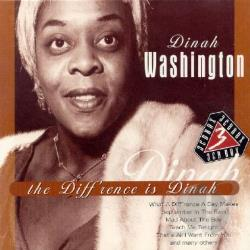 Washington, Dinah - Diff'rence Is Dinah CD Cover Art