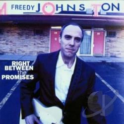 Johnston, Freedy - Right Between The Promises CD Cover Art