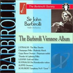 Barbirolli, John, Sir - Barbarolli Viennese Album CD Cover Art