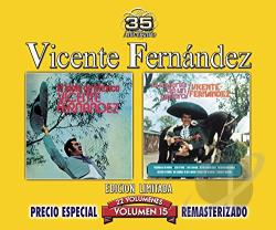Vicente Fernandez (Latin) - Idolo de Mexico/La Muerte de un Gallero, Vol. 15 CD Cover Art