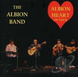 Albion Band - Albion Heart on Tour CD Cover Art