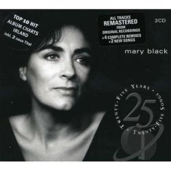 Black, Mary - 25 Years 25 Songs CD Cover Art