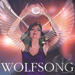 Vonorn & Lady Sue - Wolfsong CD Cover Art