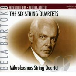 Bartok / Mikrokosmos String Quartet - Bartok: The Six String Quartets SA Cover Art