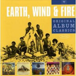 Earth, Wind & Fire - Original Album Classics CD Cover Art