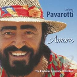 Pavarotti, Luciano - Amore: Essential Romantic Collection CD Cover Art