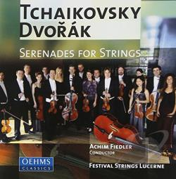 Dvorak / Festival Strings Lucerne / Tchaikovsky - Tchaikovsky, Dvorak: Serenades for Strings CD Cover Art