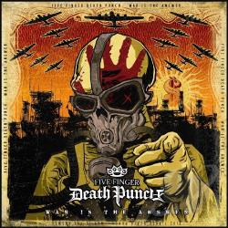 Five Finger Death Punch - War Is the Answer CD Cover Art