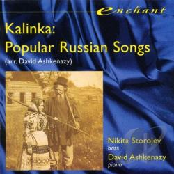 Nikita Storojev (Bass); David Ashkenazy - Kalinka - Popular Russian Songs / Storojev, Ashkenazy CD Cover Art