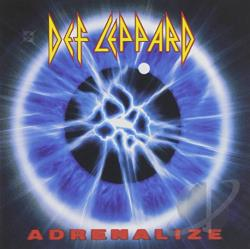 Def Leppard - Adrenalize CD Cover Art