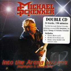 Schenker, Michael - Into The Arena 1972-1995 CD Cover Art