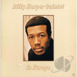 Harper, Billy / Harper, Billy Quintet - In Europe CD Cover Art