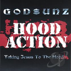 God Sunz - Hood Action CD Cover Art