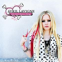 Lavigne, Avril - Best Damn Thing CD Cover Art