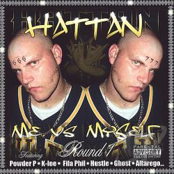 Hattan - Me vs. Myself Round 1 CD Cover Art