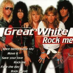Great White - Rock Me CD Cover Art