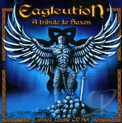Eagleution: A Tribute to Saxon CD Cover Art