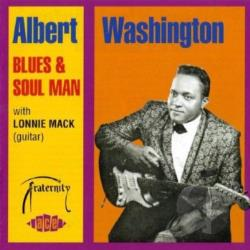 Washington, Albert - Blues & Soul Man CD Cover Art