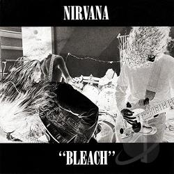 Nirvana - Bleach CD Cover Art