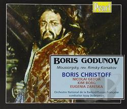 Christoff / Dobrowen / Mussorgsky / Zareska - Moussorgsky: Boris Godunov CD Cover Art