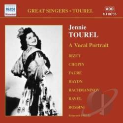Tourel, Jennie - Vocal Portrait CD Cover Art